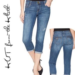 Kut from the Kloth Maggie Skinny Boyfriend Jeans